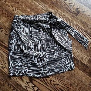 Kennith Cole wrap skirt